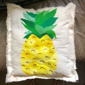 Handmade pineapple pillow